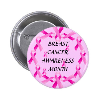 BREAST CANCER AWARENESS! Button