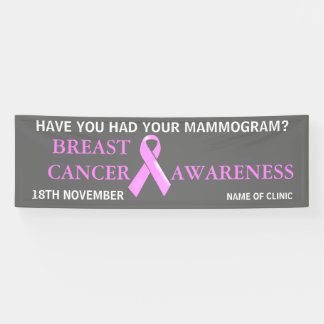 Breast Cancer Awareness Campaign | Personalize Banner