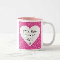 Breast Cancer Awareness - Cancer is Rude Mug