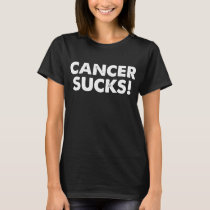 Breast Cancer Awareness Cancer Sucks! Beat Cancer T-Shirt