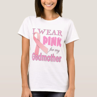 Breast Cancer Awareness Cancer T shirt Godmother