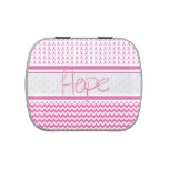 Breast Cancer Awareness Candy Tin Hope