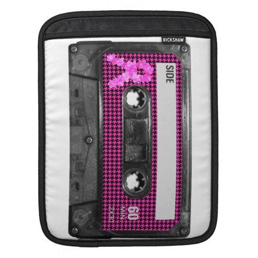 Breast Cancer Awareness Cassette iPad Sleeve