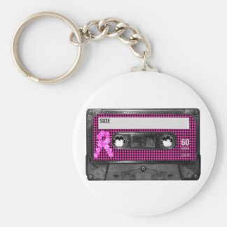 Breast Cancer Awareness Cassette Key Chains