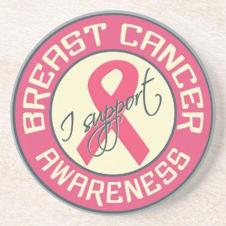 Breast Cancer Awareness coaster