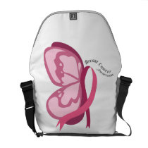 Breast Cancer Awareness Courier Bag