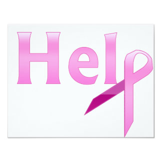 breast cancer awareness custom announcements