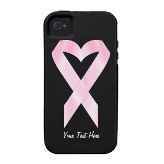 Breast Cancer Awareness (customizable) Vibe iPhone 4 Cases