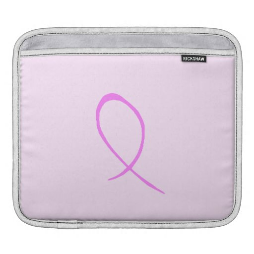 Breast Cancer Awareness Customizable iPad Sleeve