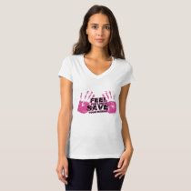 Breast Cancer Awareness Feel For Lumps T-Shirt