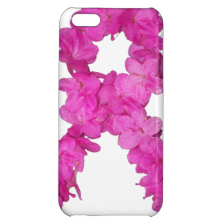 Breast Cancer Awareness Flower Ribbon Case For iPhone 5C