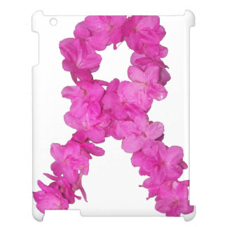 Breast Cancer Awareness Flower Ribbon iPad Case
