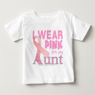 Breast Cancer Awareness for Aunt T-shirt