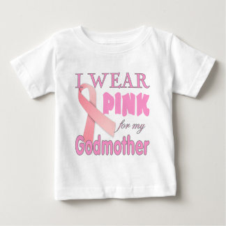 Breast Cancer Awareness  for Godmother Baby T-Shirt