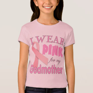Breast Cancer Awareness  for Godmother T-Shirt