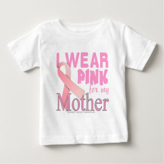 Breast cancer Awareness for Mother Baby T-Shirt