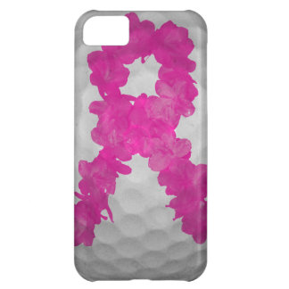 Breast Cancer Awareness Golf Ball iPhone 5C Case