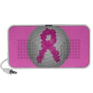 Breast Cancer Awareness Golf Ball Speaker