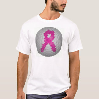 Breast Cancer Awareness Golf Ball T-Shirt