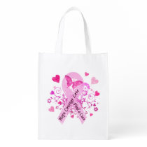 Breast Cancer Awareness Grocery Bag