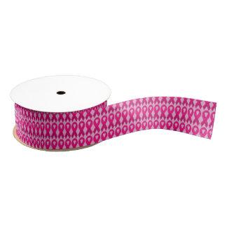 Breast cancer awareness Grosgrain Ribbon