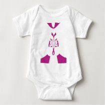 Breast Cancer Awareness Hakuna Matata Latest Breas Baby Bodysuit