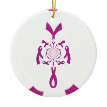 Breast Cancer Awareness Hakuna Matata Latest Breas Ceramic Ornament
