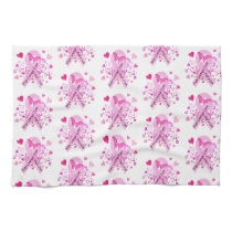 Breast Cancer Awareness Hand Towel