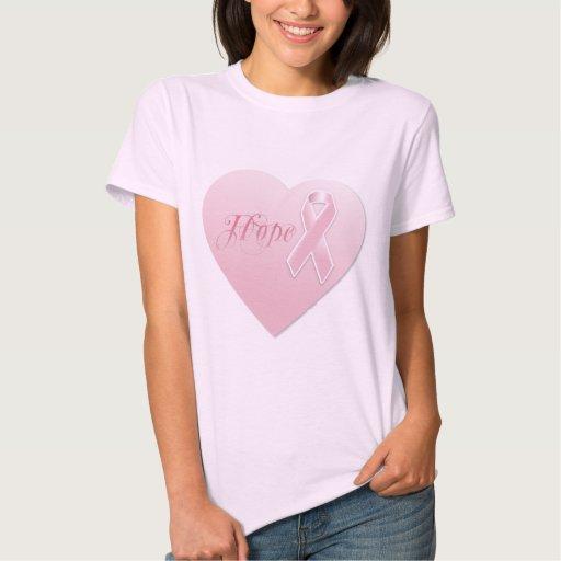 Breast Cancer Awareness Heart Tshirts