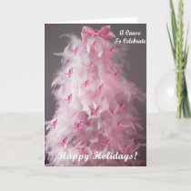 Breast Cancer Awareness Holiday Card