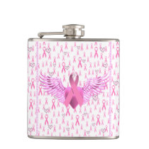 Breast Cancer Awareness,HOPE_ Flask