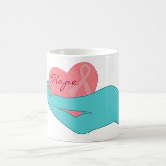 Breast Cancer Awareness Hope Mug