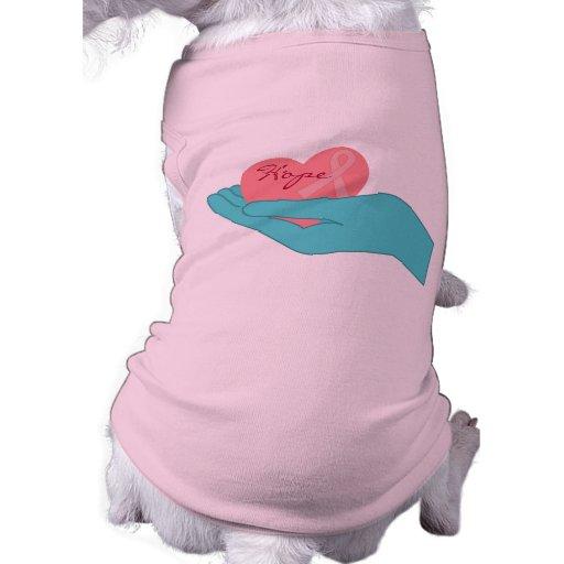 Breast Cancer Awareness Hope Pet Shirt