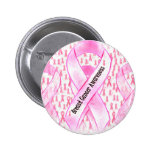 Breast Cancer Awareness-HOPE_ Pinback Button