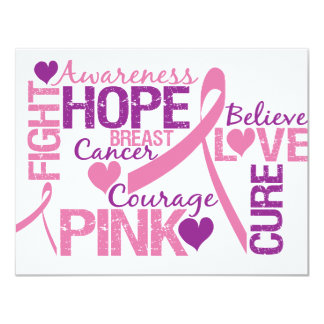 Breast Cancer Awareness Personalized Announcement