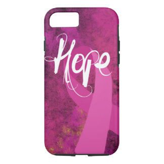 Breast Cancer Awareness iPhone 7 case: Hope iPhone 8/7 Case