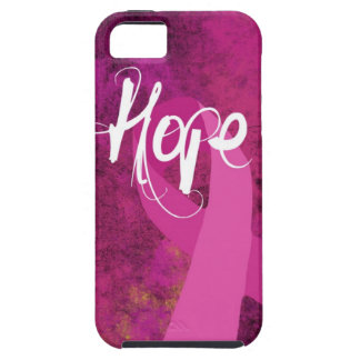 Breast Cancer Awareness iphone case: Hope iPhone SE/5/5s Case