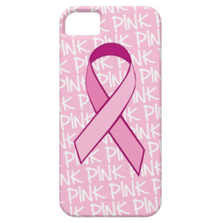 Breast Cancer Awareness iPhone cover - Pink Ribbon iPhone 5 Cases