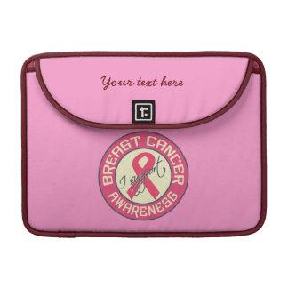Breast Cancer Awareness MacBook sleeve