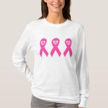 Breast Cancer Awareness Mom Pink Ribbon T-Shirt