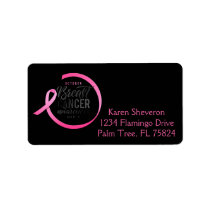 Breast Cancer Awareness Month Address Labels