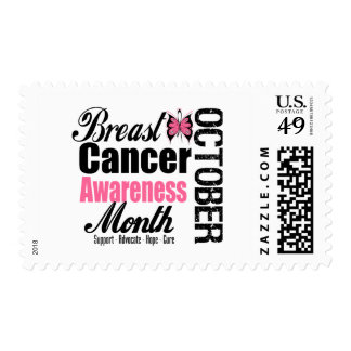 Breast Cancer Awareness Month Butterfly Tribute Stamps