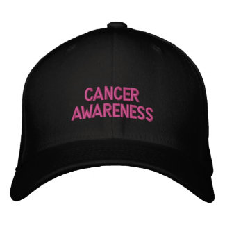 Breast Cancer Awareness Month Cap! Embroidered Baseball Hat