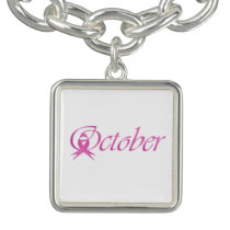 Breast Cancer awareness month October Bracelet