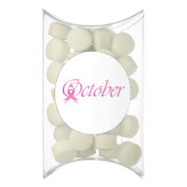 Breast Cancer awareness month October Chewing Gum