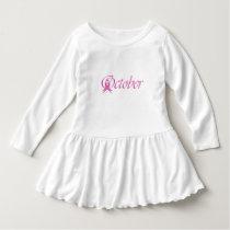 Breast Cancer awareness month October Dress