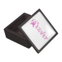 Breast Cancer awareness month October Gift Box