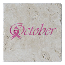 Breast Cancer awareness month October Trivet