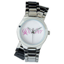 Breast Cancer awareness month October Watch