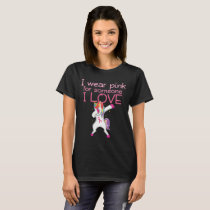 Breast Cancer Awareness Month Pink Ribbon T-shirt